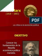 Filosofía de Marx