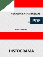 HB Histograma Dispersion Flujo