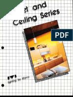 Marco Bracket & Ceiling Series Catalog 4-84
