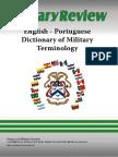 Dictionary - Portuguese English - Military Dictionary