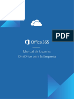 Microsoft365 - Manual de Uso - Onedrive Para Enterprise Edition