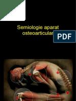 Semiologia aparat oasteoarticular