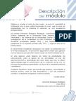 Descripcion Del Modulo FERNANDO RODRIGUEZ