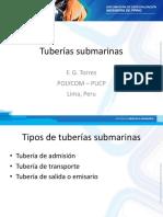 1.2. Tópicos Selectos 1 Tuberías Submarinas