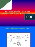 Fisiologia Calcio y Osteoporosis