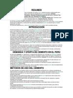 Cemento Peru