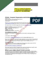 ITC544 Computer Organization