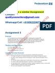 ITECH 1006 Assignment 2 Sem1 2017