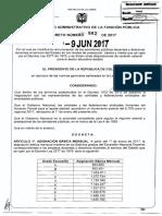 Decreto 982 Del 09 de Junio de 2017