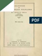 Marcu Beza-Paganism in Roumanian Folklore 1928