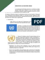 Informe Sobre La Organización de Las Naciones Unidas