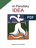 Panofsky, Erwin, Idea (Cátedra, 1998)