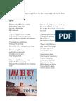 Lana Del Rey – 24 lyrics