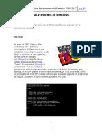 Las Versiones de Windows