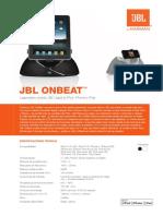 Specification Sheet - OnBeat (Spanish EU)