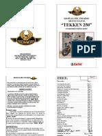 Manual TEKKEN 250[1]