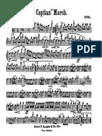 Sousa - El Capitan (Eb Clarinet)