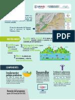 Infografia programa Conservación y Gobernanza