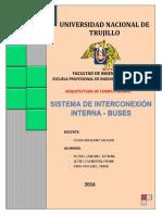 Informe de Interconexion Interna - Buses