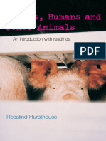 (Philosophy and the Human Situation) Rosalind Hursthouse-Ethics, Humans and Other Animals_ an Introduction With Readings-Routledge (2000)