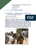 África. El escandaloso y vergonzoso pacto colonial entre Francia y sus antiguas colonias..doc