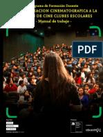 Manual de Formacion Docente Apreciacion Cinematografica 2016