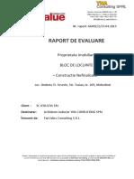 Raport Evaluare Bloc Locuinte
