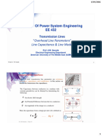 3.2_ Transmission Lines, Line Parameters and Circuit Model_summary
