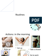 Actions Adverbs of Frequency