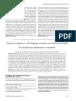Aspectos Cognitivos y Del Lenguaje en El Fragil x