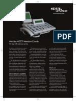 Meridian M2250 Datasheet