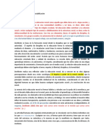 Teoría Educación Moral y Sociabilización Marco TeoricoCORR