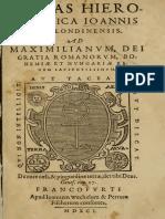 Dr John Dee - Monas Hieroglyphica