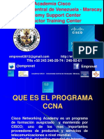 Presentación CCNA Academia UCV-Maracay