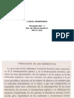 Presentación (Envío 5) Rocas Sedimentarias Parte 1, EPIG, AEHG. Ab 27, 2015