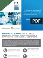 Inversión en Biotecnología en Colombia