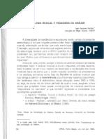 1990 - Jean-Jacques Nattiez - Semiologia Musical e Pedagogia da Análise