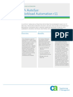Autosys Product Brief