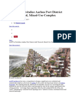 AART to Revitalize Aarhus Port District With Terraced