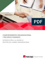 Introduccion a La Unidad 4 - Gestion Del Cambio Organizacional