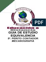 5P-Equivalencia-Mecanografia