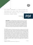 La Circulación de Historias de Vida Como Tecnología de Imaginación Política en La Crisis Española