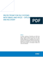 Docu62336 ProtectPoint for File Systems With VMAX3 and VPLEX Offloading Backup and Recovery