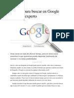 7 Trucos Para Buscar en Google Como Un Experto