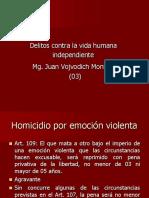 Delito Contra La Vida Humana Independiente 3