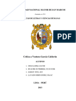 Crítica a Ventura García Calderón   Pregrado UNMSM 2013