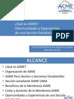 Presentación ASME 2017