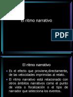Tiempo y Narración El Ritmo Narrativo.