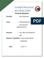 Plan de Negocio Definiciones