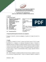 SPA Didáctica de Ciencia y Ambiente
